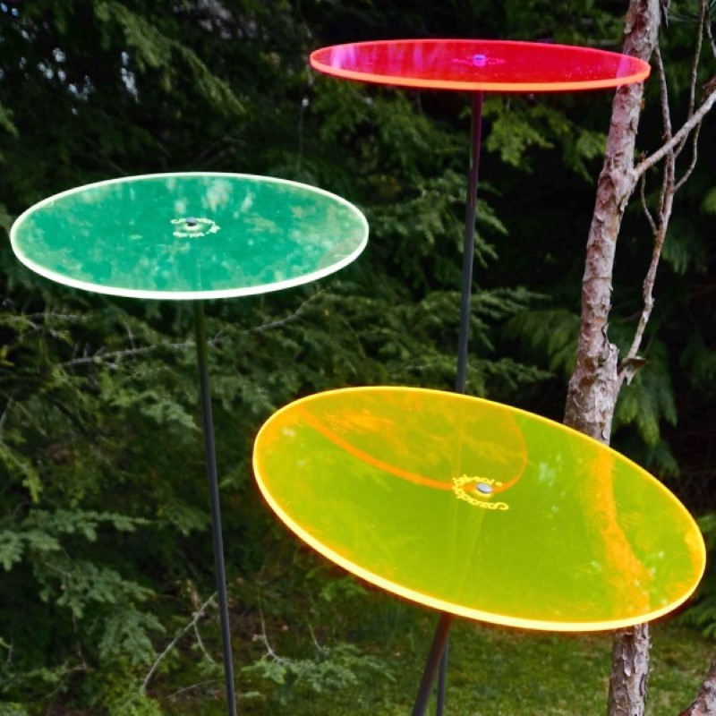 Picture showing all available colors of this suncatcher model
