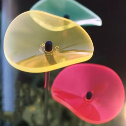 Picture showing one of each of the available colors of this suncatcher model