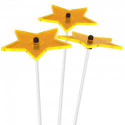 Picture showing this suncatcher model in yellow