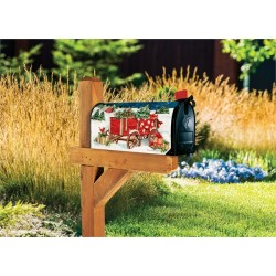 Picture of mailwrap on mailbox (box and stand not included)