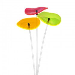 Picture showing this suncatcher model in one-each color bouquet
