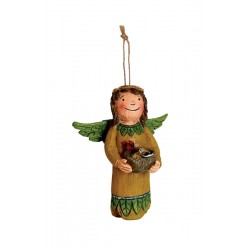 Front of Angel Ornament - Thinking of You