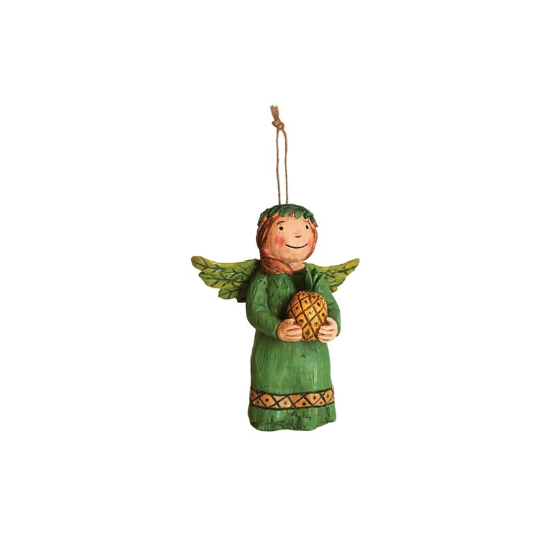 Front of Angel Ornament - Warm Welcome