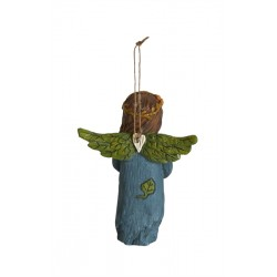Back of Angel Ornament - Harvest Gifts