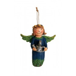 Front of Angel Ornament - Plant Kindness