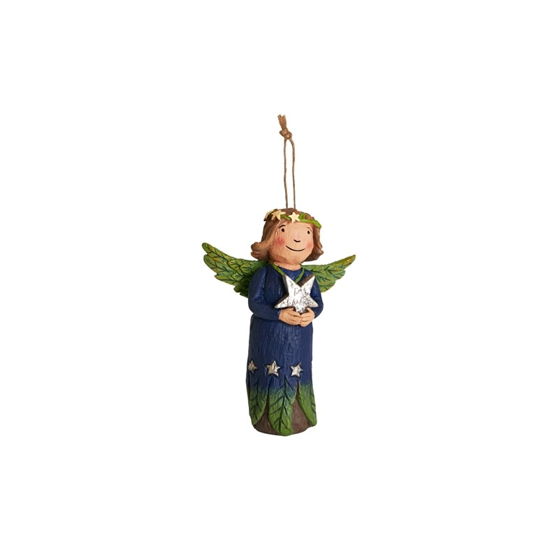 Front of Angel Ornament - Shine Bright