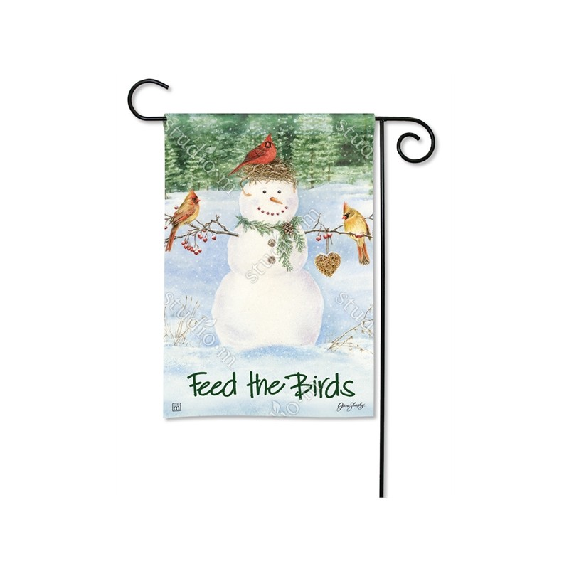 Picture of Garden Flag with design