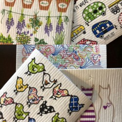 wet-It cloth showing different designs